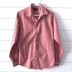 Banana Republic Pink Long Sleeve Button Down Shirt